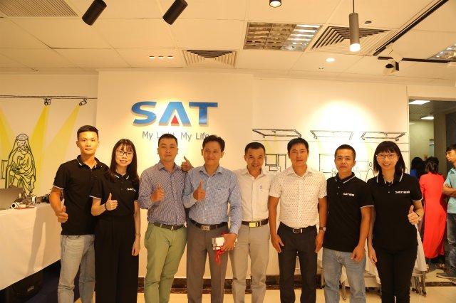 SAT海外市场推广第一站--越南